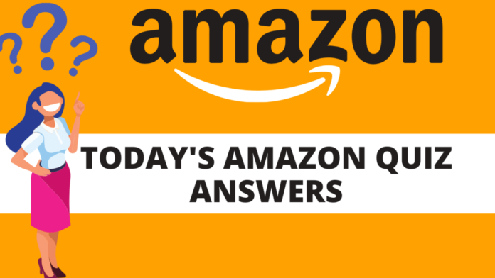 Amazon Quiz Answers today 22nd july