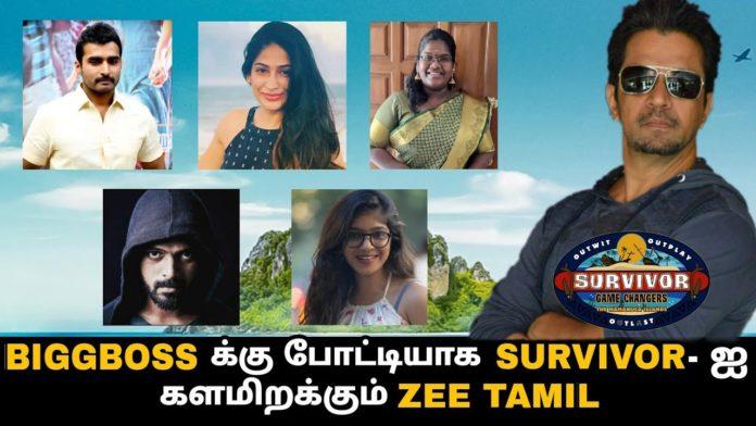 Survivor Tamil contestants